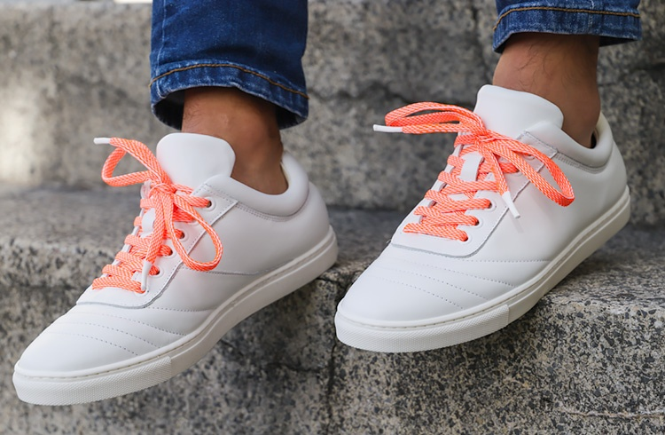 Tylaces Blanc/Orange Fluo