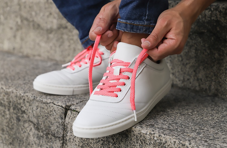 Tylaces White/Fluo Rose